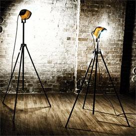 Single LED Floodlight