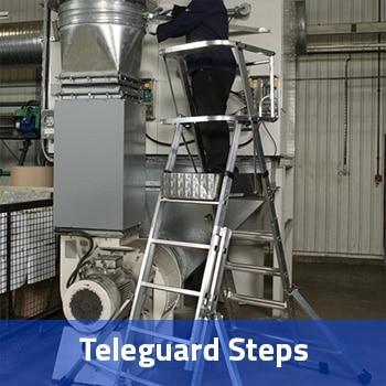 Teleguard Steps Hire