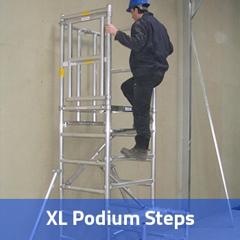 podium step Hire