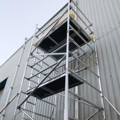 Boss LadderSpan Scaffold Tower Hire