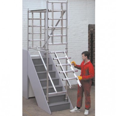 Alloy Stair Scaffold Tower Hire