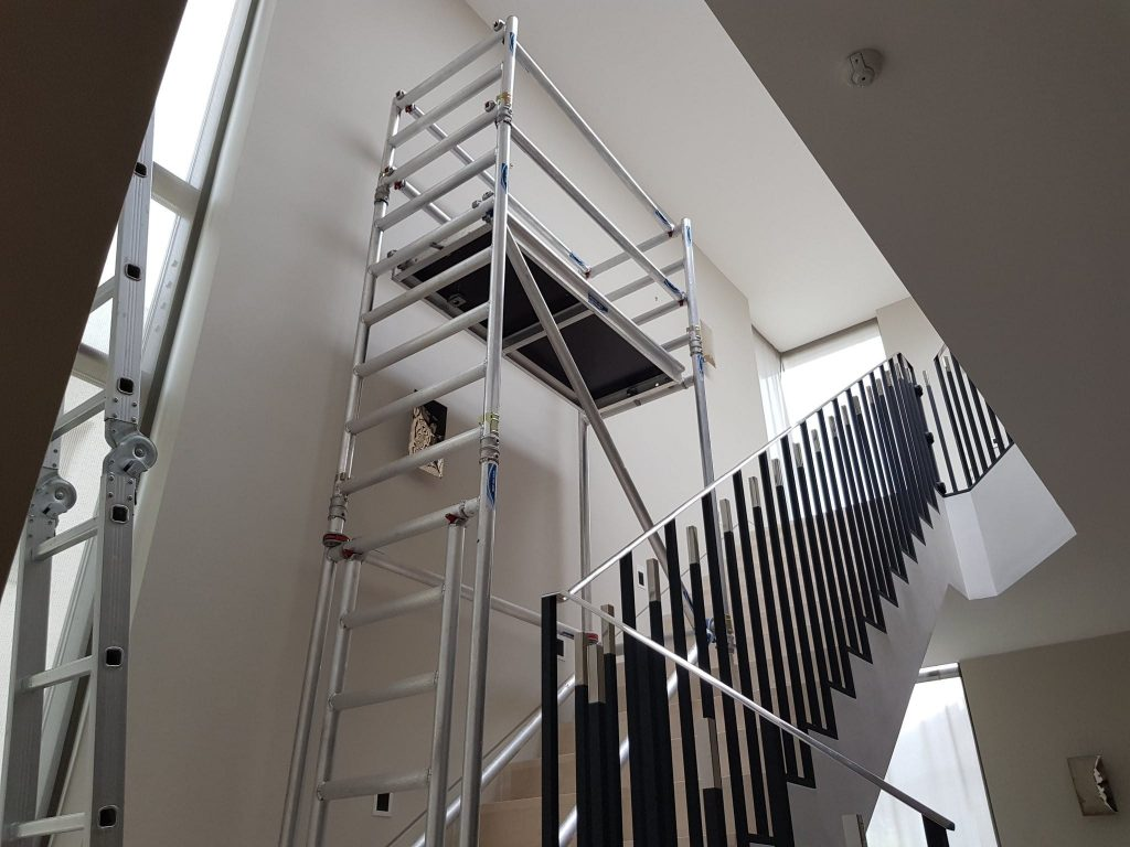 Alloy Stair Scaffold Tower Hire Nationwide Lakeside Hire