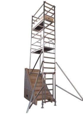 Alloy Stair Tower Hire