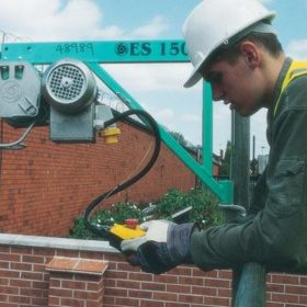 Scaffold Hoist Electric Hire