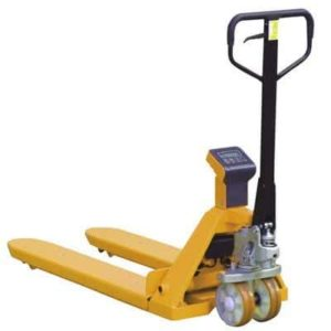 Weight Scale Pallet Truck Hire