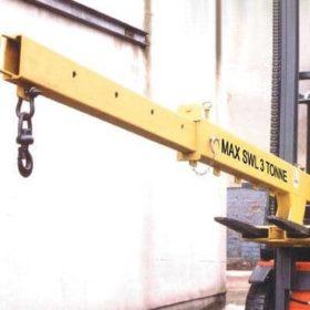 Adjustable Fork Lift Jib Hire