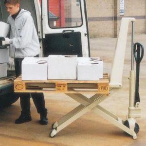 High Lift Pallet Truck Hire