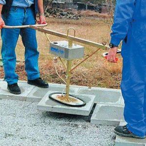 Vacuum Slab Lifter Battery Hire