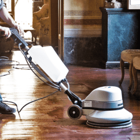 Electric Floor Polisher Scrubber Hire