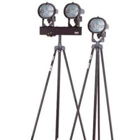 Twin 500w Tripod Floodlight Hire In