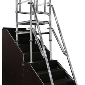 Stairwell Podium Step Hire